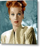 Lucille Ball Metal Print by Everett Collection