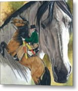 Lusitano Metal Print by Barbara Keith