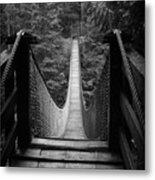 Lynn Canyon Bridge Metal Print by Tom Buchanan