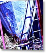 Machinery Into Art Metal Print by Chuck Taylor