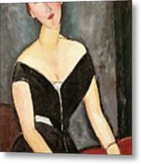 Madame G Van Muyden Metal Print by Amedeo Modigliani