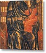 Madonna Icon, 13th Century Metal Print by Granger