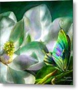 Magnolia Metal Print by Carol Cavalaris