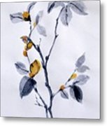 Magnolia Metal Print by Sibby S