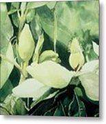 Magnolium Opus Metal Print by Elizabeth Carr