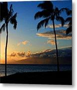 Mai Ka Aina Mai Ke Kai Kaanapali Maui Hawaii Metal Print by Sharon Mau
