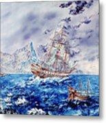 Maiden Voyage Metal Print by Richard Barham