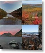 Maine Acadia National Park Landscape Photography Metal Print by Juergen Roth