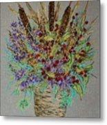 Maine Bouquet Metal Print by Collette Hurst