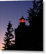 Maine Lighthouse Metal Print by Juergen Roth