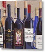 Make Mine Virginia Wine Number One Metal Print by Christopher Mize