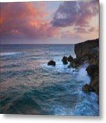 Makewehi Sunset Metal Print by Mike  Dawson