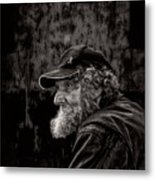 Man With A Beard Metal Print by Bob Orsillo