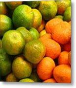 Mandarins And Tangerines Metal Print by Yali Shi