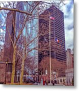 Manhattan Metal Print by Claudia M Photography