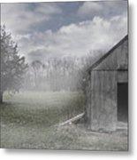 Manor Road Farm Metal Print by Tom Romeo