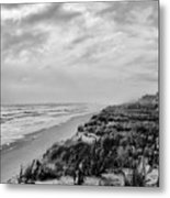 Mantoloking Beach - Jersey Shore Metal Print by Angie Tirado