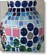 Marble Vase Metal Print by Jamie Frier