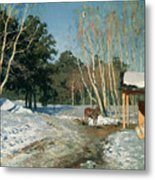 March Metal Print by Isaak Ilyich Levitan