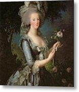 Marie Antoinette Metal Print by Elisabeth Louise Vigee Lebrun