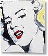 Marilyn Monroe Metal Print by Joseph Palotas