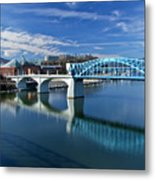 Market Street Bridge  Metal Print by Tom and Pat Cory
