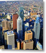 Market West Center City Philadelphia Pennsylvania 19103 Metal Print by Duncan Pearson
