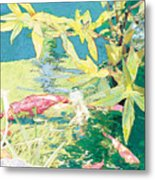 Marry-go-round Kio In The Spring-may Day Metal Print by Judy Loper
