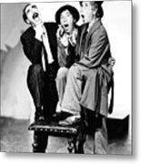 Marx Brothers, The Groucho, Chico Metal Print by Everett