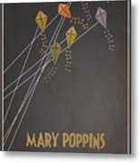 Mary Poppins Metal Print by Megan Romo