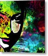 Masking Ego Metal Print by Ramneek Narang