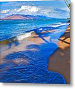Maui Palms Metal Print by James Roemmling