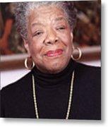 Maya Angelou Metal Print by Robert Ponzoni