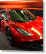 Mclaren Mph-12c Sportscar Metal Print by Wingsdomain Art and Photography