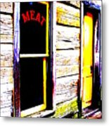 Meat Market Metal Print by Ed Smith