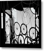 Mechanistic Metal Print by Dale  Witherow