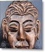 Meditating Buddha Metal Print by Rajesh Chopra