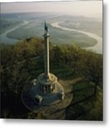 Memorial To The Battle Of Chattanooga Metal Print by Sam Abell