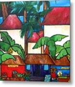 Mercado En Puerto Rico Metal Print by Patti Schermerhorn