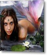 Mermaid Lagoon Metal Print by Crispin  Delgado