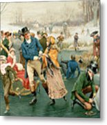 Merry Christmas Metal Print by Frank Dadd