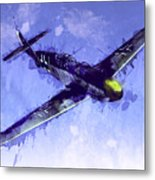 Messerschmitt Bf 109 Metal Print by Michael Tompsett
