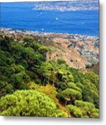 Messina Strait - Italy Metal Print by Silvia Ganora