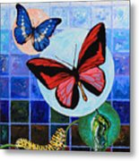 Metamorphosis Of The New Life Metal Print by John Lautermilch