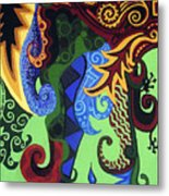 Metaphysical Fauna Metal Print by Genevieve Esson