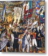 Mexico: 1810 Revolution Metal Print by Granger