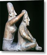 Mexico: Totonac Figures Metal Print by Granger