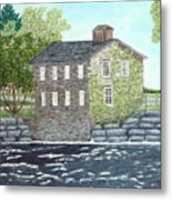 Meyers Mill Metal Print by Peggy Holcroft