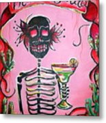 Mi Margarita Metal Print by Heather Calderon
