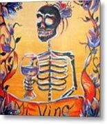 Mi Vino Metal Print by Heather Calderon